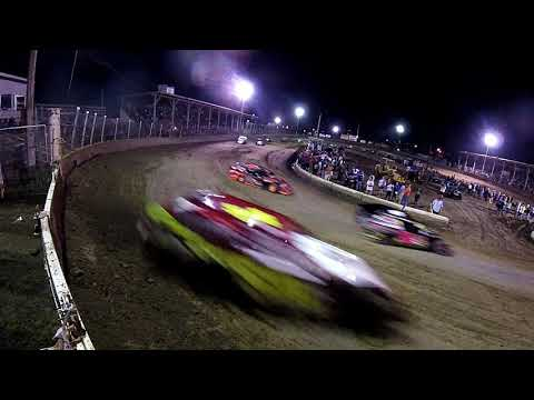 A-Mod  Feature Turn one gate cam  at Belle-Clair Speedway 8-23-19