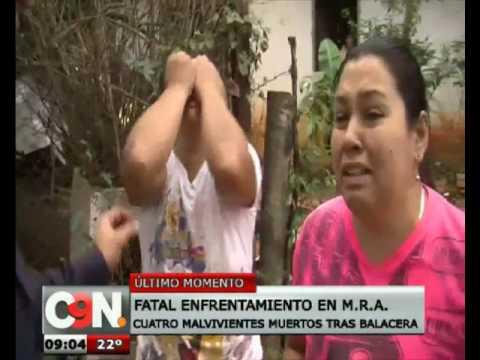 Fatal enfrentamiento en Mariano Roque Alonso