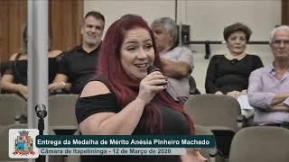 Sessão Solene - Medalha de Mérito Anésia Pinheiro Machado - 2020