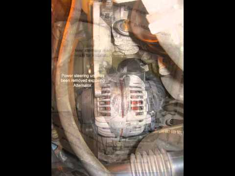Volvo 850 Alternator Replacement - Test And Replace Alternator In Volvo V - Volvo 850 Alternator Replacement