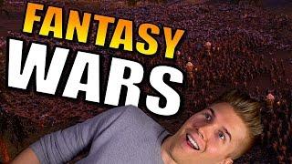 UEBS [Fantasy Wars: Orcs, Zombies, Dwarves!] Ultimate Epic Battle Simulator Gameplay!