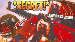 *NEW* SECRET RARE CAMO in COD WW2...😍 (FreddyVSJason CAMO GAMEPLAY)