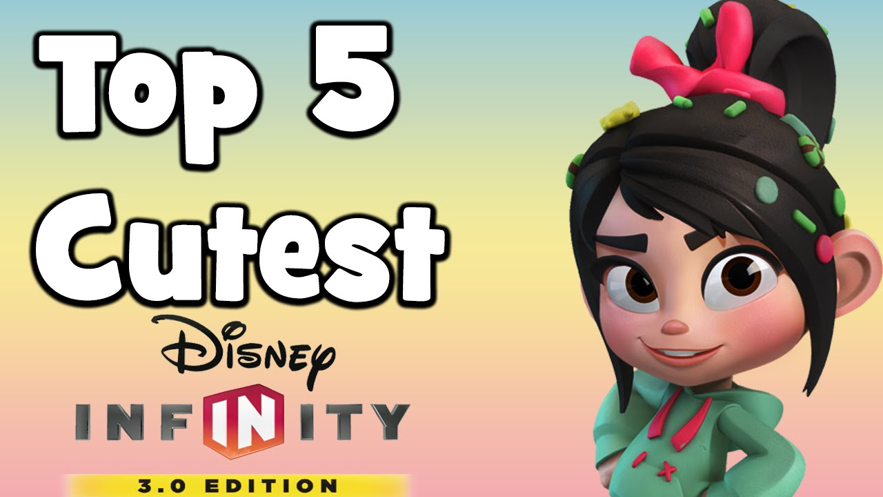 Top 5 Cutest Characters in Disney Infinity 3.0! - YouTube