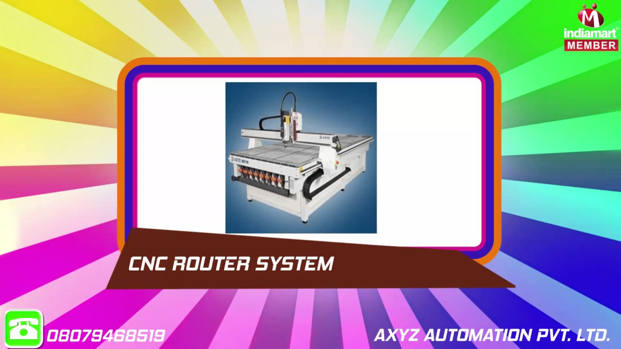 CNC Router | Axyz Automation Private Limited | Manufacturer in
