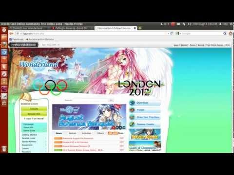 Setting up Wonderland Online up on Linux
