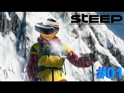 Steep - PS4 / PRO ( GAMEPLAY ) OMG I LOVE THIS GAME!!! LIVE #01