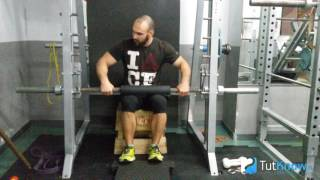 Как накачать камбаловидную мышцу - техника выполнения упражнения
