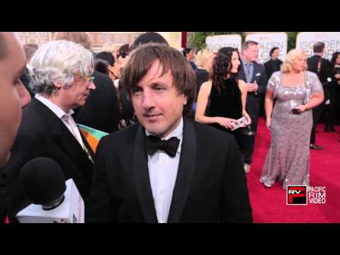 Daniel Pemberton music composer of Steve Jobs movie at the Golden Globe Awards 2016
