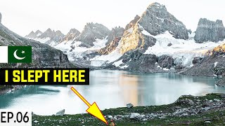 God's Own Valley Kashmir S2. EP06 | Shounter Valley Chitta Katha Lake | Pakistan Motorcycle Tour