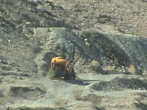jeep ride into the steam shovel mine quartzsite AZ la paz
