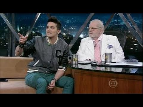 Luan Santana no programa do Jô Soares