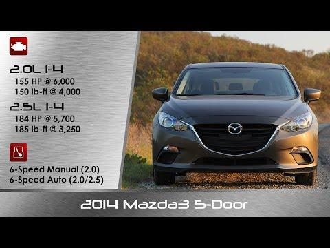 2014 Mazda Mazda3 5 Door Hatchback Review and Road Test