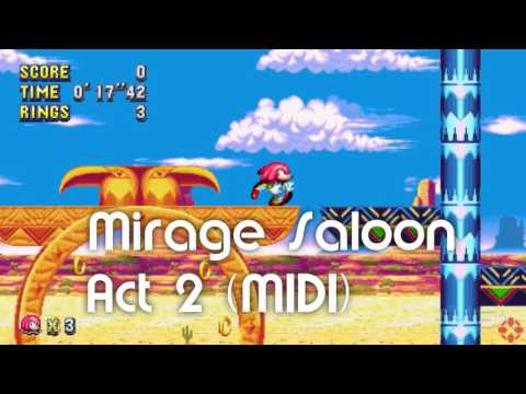 Sonic Mania - Mirage Saloon Act 2 (MIDI; download)