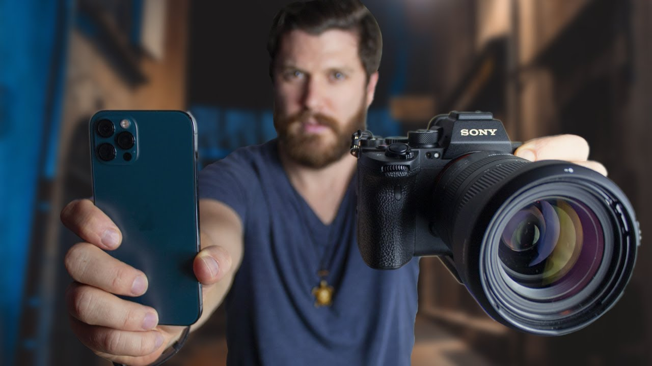 iPhone 12 Pro Vs Sony A7Siii  |  12 MP Shootout
