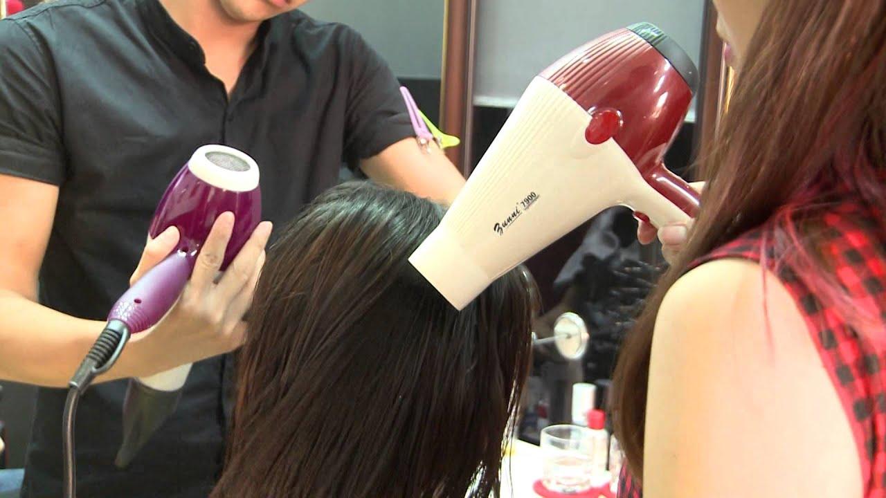 Phục Hồi tóc khô xơ, hư tổn nặng bằng KERATIN