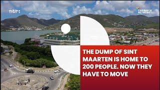 Dump of Sint Maarten is home to 200 people