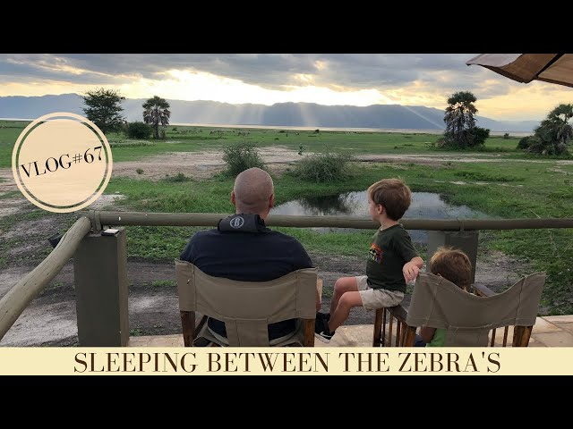 A weekend away sleeping between zebra's in a tented camp | Makasa Tanzania Safari | VLOG #67