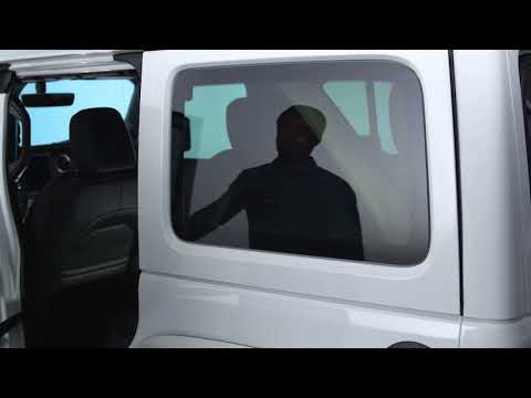 Rear Window Removal-Rear side window removal on 2018 Jeep Wrangler
