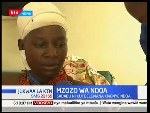 Download Mwanamke adai kukatwa mkono na mumewe, baada mzozo ulianza baada ya kukosa kumtimizia kindoa mumewe