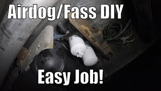 How To Change Airdog Water Seperator/Fuel Filter For Duramax