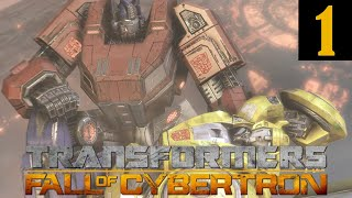 Transformers Fall of Cybertron Walkthrough Part 1 No Commentary 1080p 60FPS