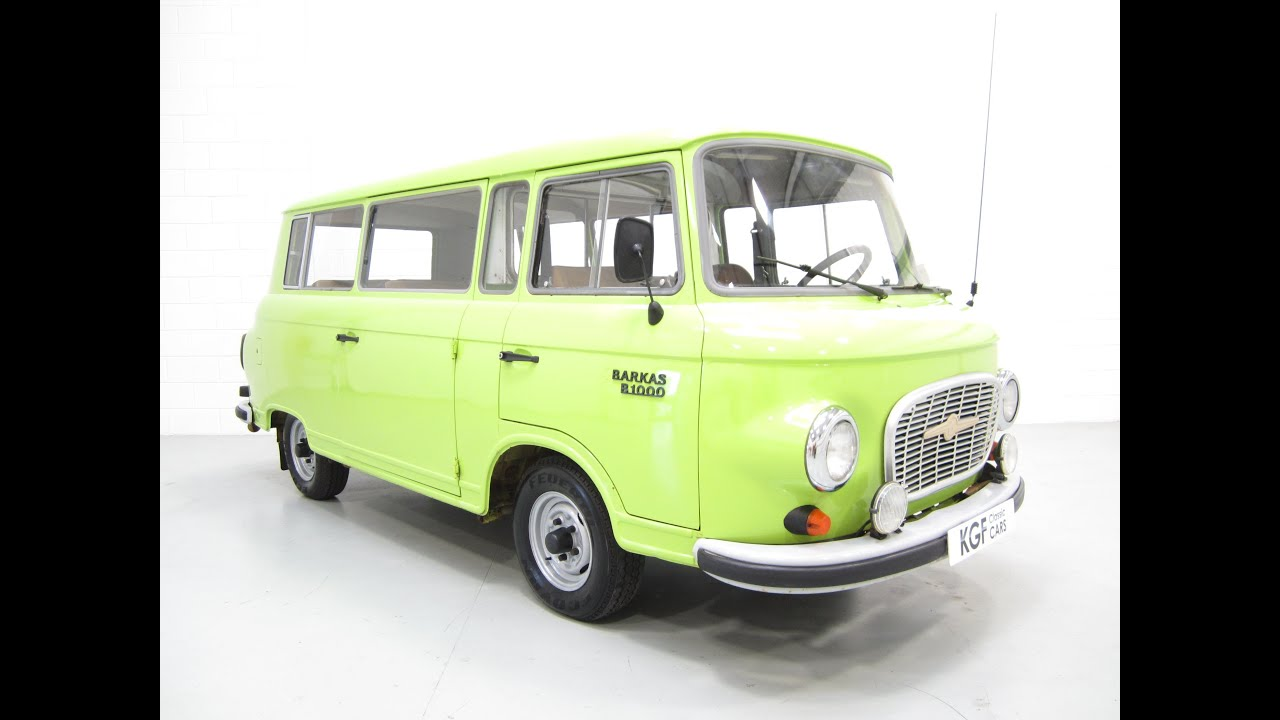 a wonderful very rare barkas b 1000 minibus with one uk. Black Bedroom Furniture Sets. Home Design Ideas