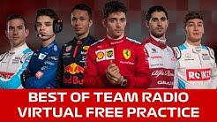 BEST OF TEAM RADIO - VIRTUAL F1 FREE PRACTICE - FEAT LANDO NORRIS, CHARLES LECLERC (NSFW - SWEARING)