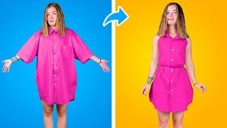 11 Überraschende Schul Fashion Hacks! DIY Kleidung- Coole Ideen