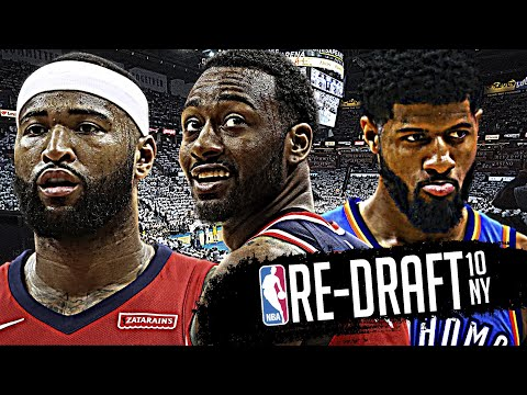 2010 NBA Re-Draft: John Wall * DeMarcus Cousins * Paul George