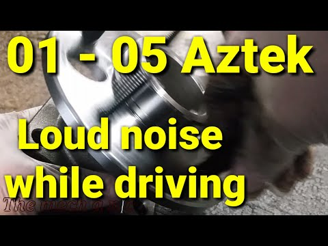 01 - 05 pontiac aztek rear wheel bearing