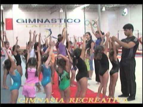 Clases de gimnasia recreativa en gimn stico laguna youtube for Clases de gimnasia