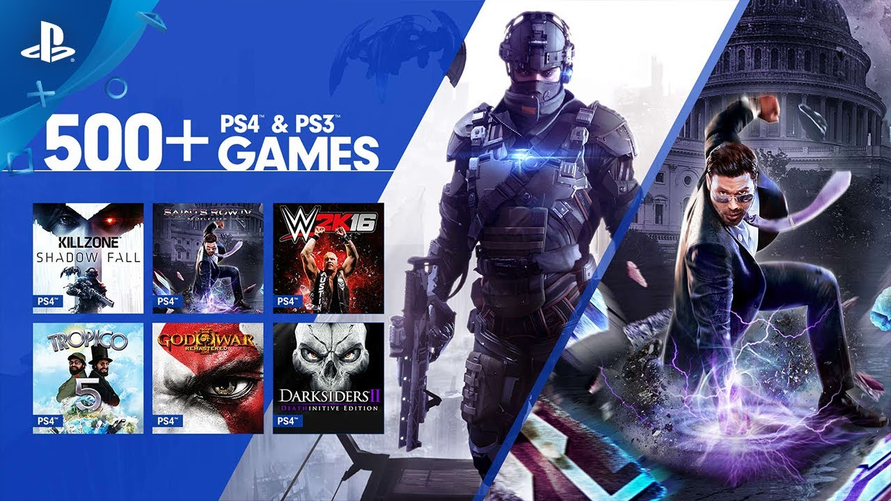 Games That Come With The Ps4 : Ps games come to playstation now windows pc youtube