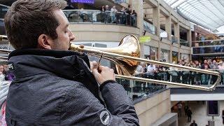 Download A surprise performance of Ravel's Bolero stuns shoppers!