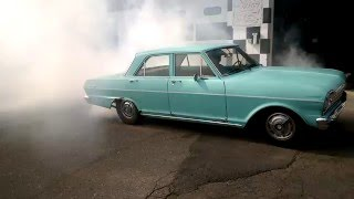 1963 Chevy II burnout