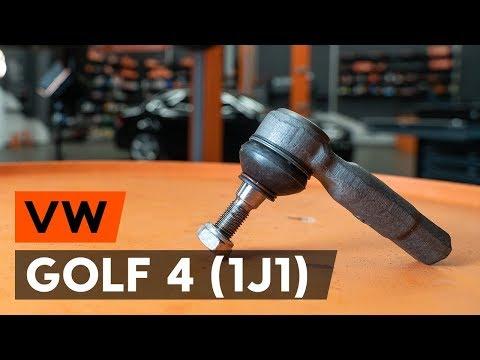 Как заменить наконечники поперечной рулевой тяги наVW GOLF 4 (1J1) [ВИДЕОУРОК AUTODOC]