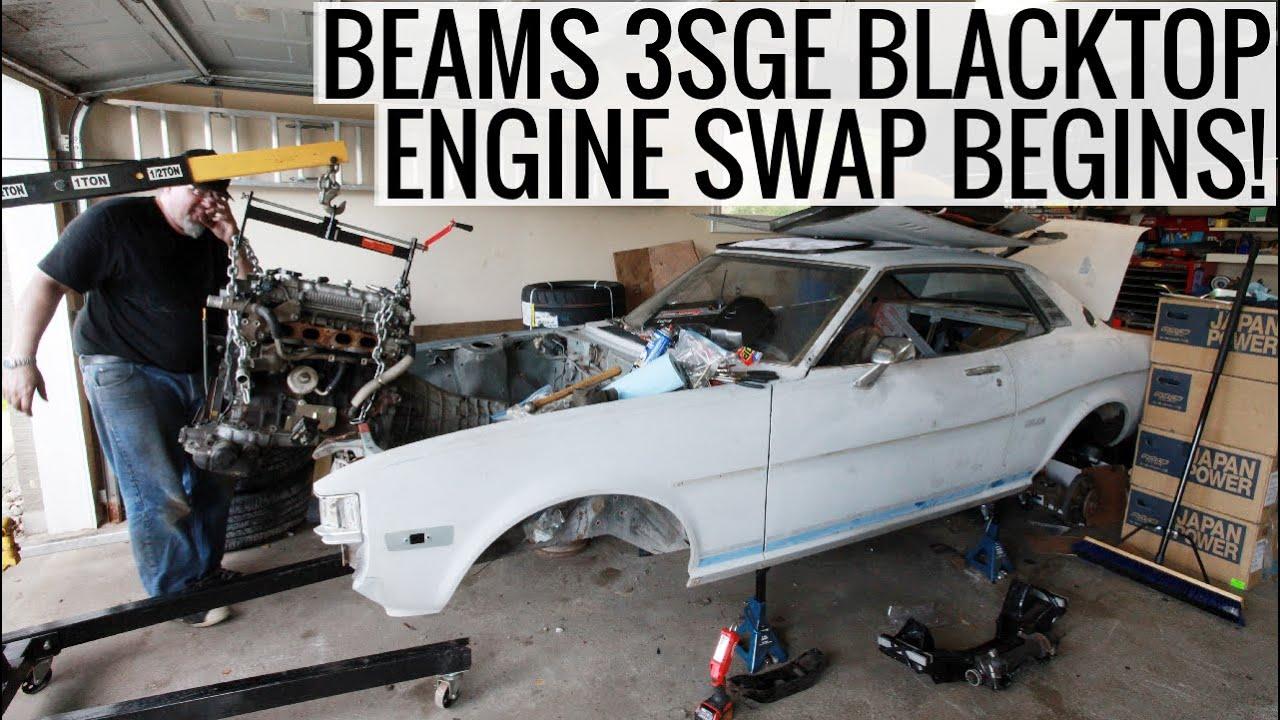 Beams 3sge Engine Swap Part 1