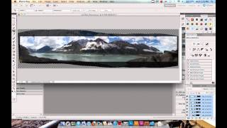 How To Create A Panorama In Adobe Photoshop CS5 with Photomerge and Content Aware Fill