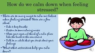 Children's Corner, What is Stress?