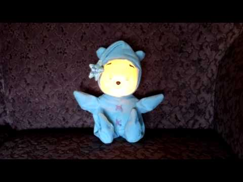 DISNEY SOOTHING STAR POOH BABY WINNIE THE POOH LIGHT SOUNDS MUSIC LULLABIES