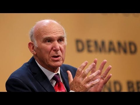 Sir Vince Cable makes Liberal Democrats conference keynote speech | ITV News