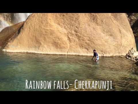 Beautiful Rainbow falls -Cherrapunji-Meghalaya #Explore #Adventure #Nature # Northeast