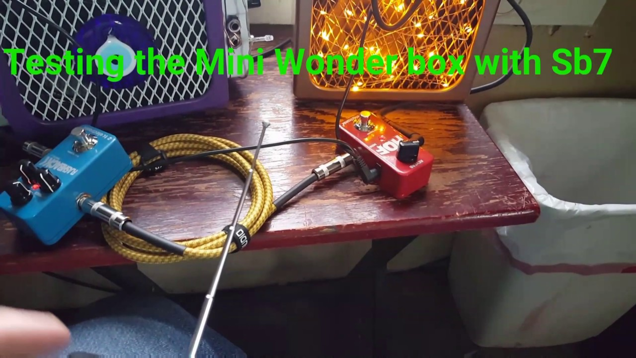 Testing Wonderbox Mini With Psb7 Youtube