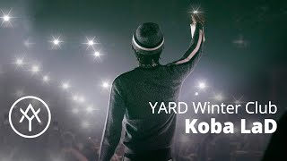 Quand Koba LaD fête son disque d'or | Live @ YARD Winter Club