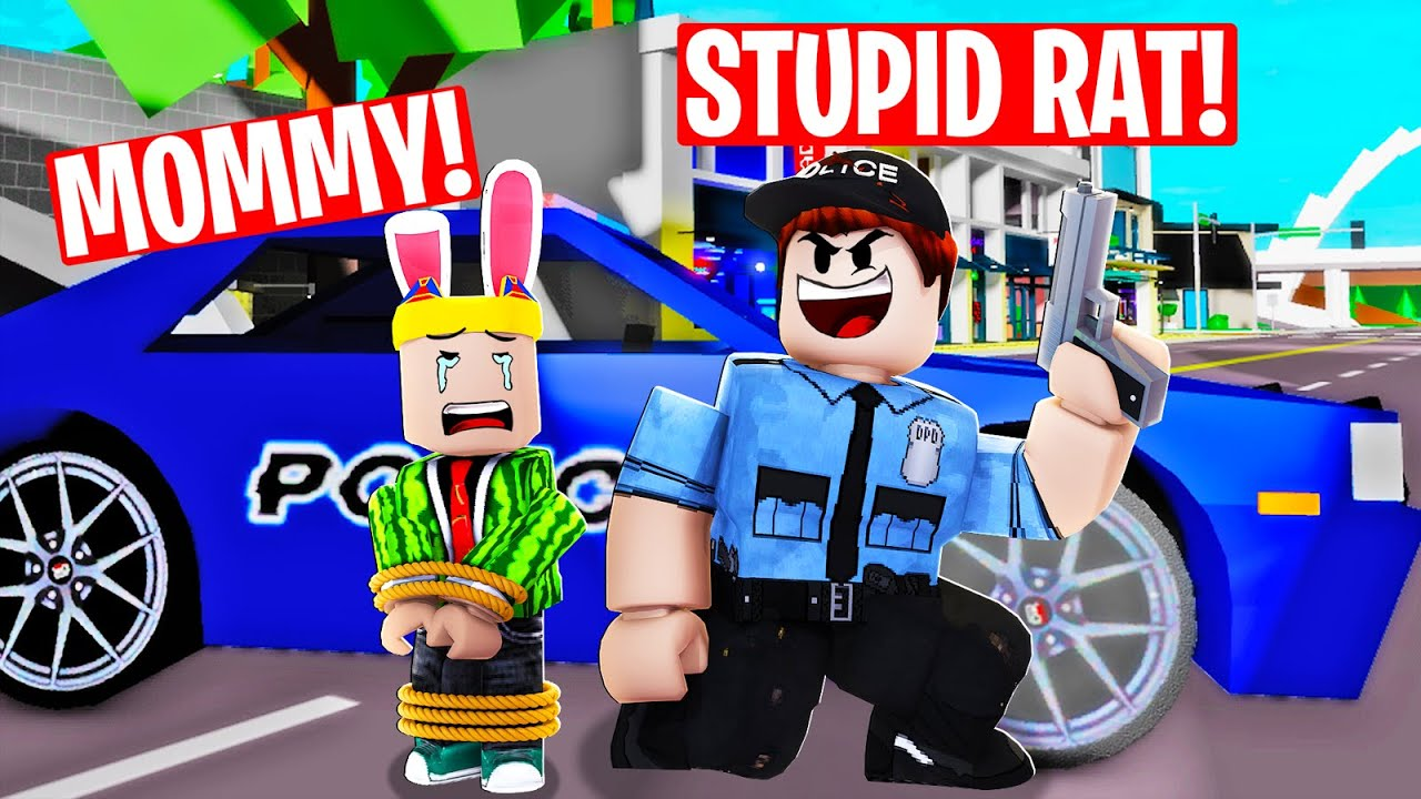 The POLICE KIDNAPPED ME...their plan will SHOCK YOU! (Brookhaven rp)