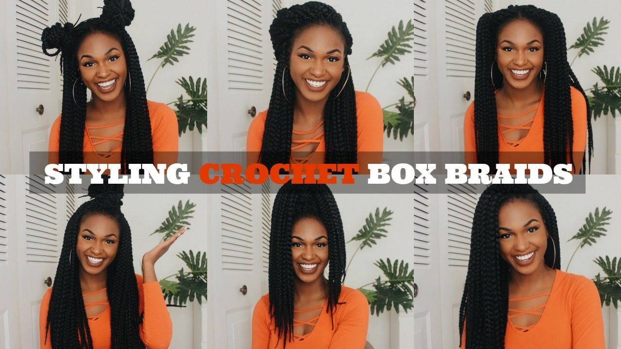 12 Easy Crochet Box Braid Hairstyles Youtube