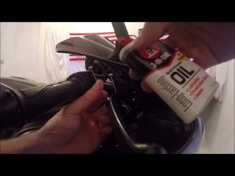 How to fix a Sticky Throttle! Yamaha YZF-R1
