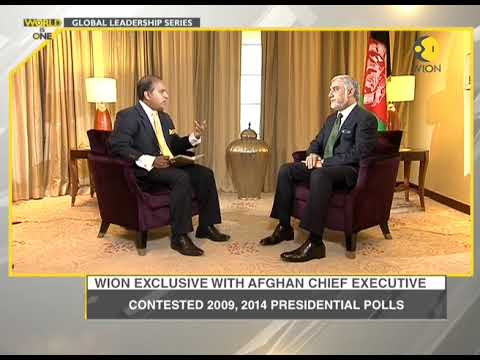 Watch: Exclusive conversation with Afghan Chief Executive Abdullah Abdullah