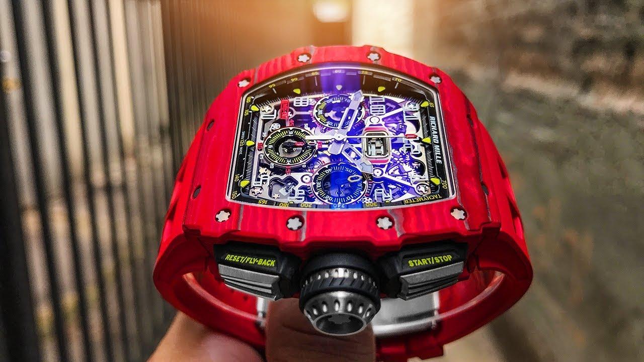 Richard Mille Rm 11 03 Vs Ferrari 488 Spider Youtube
