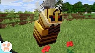 Someone Added A QUEEN BEE BOSS to Minecraft!