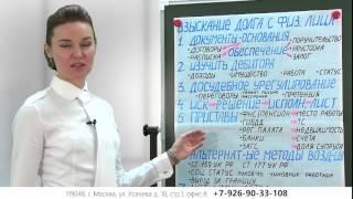 видео Взыскание задолженности